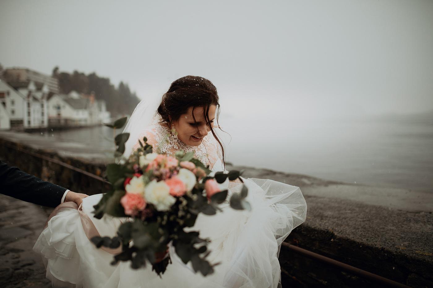 Ślub w Norwegii - reportaż ślubny Joanny i Adama 45