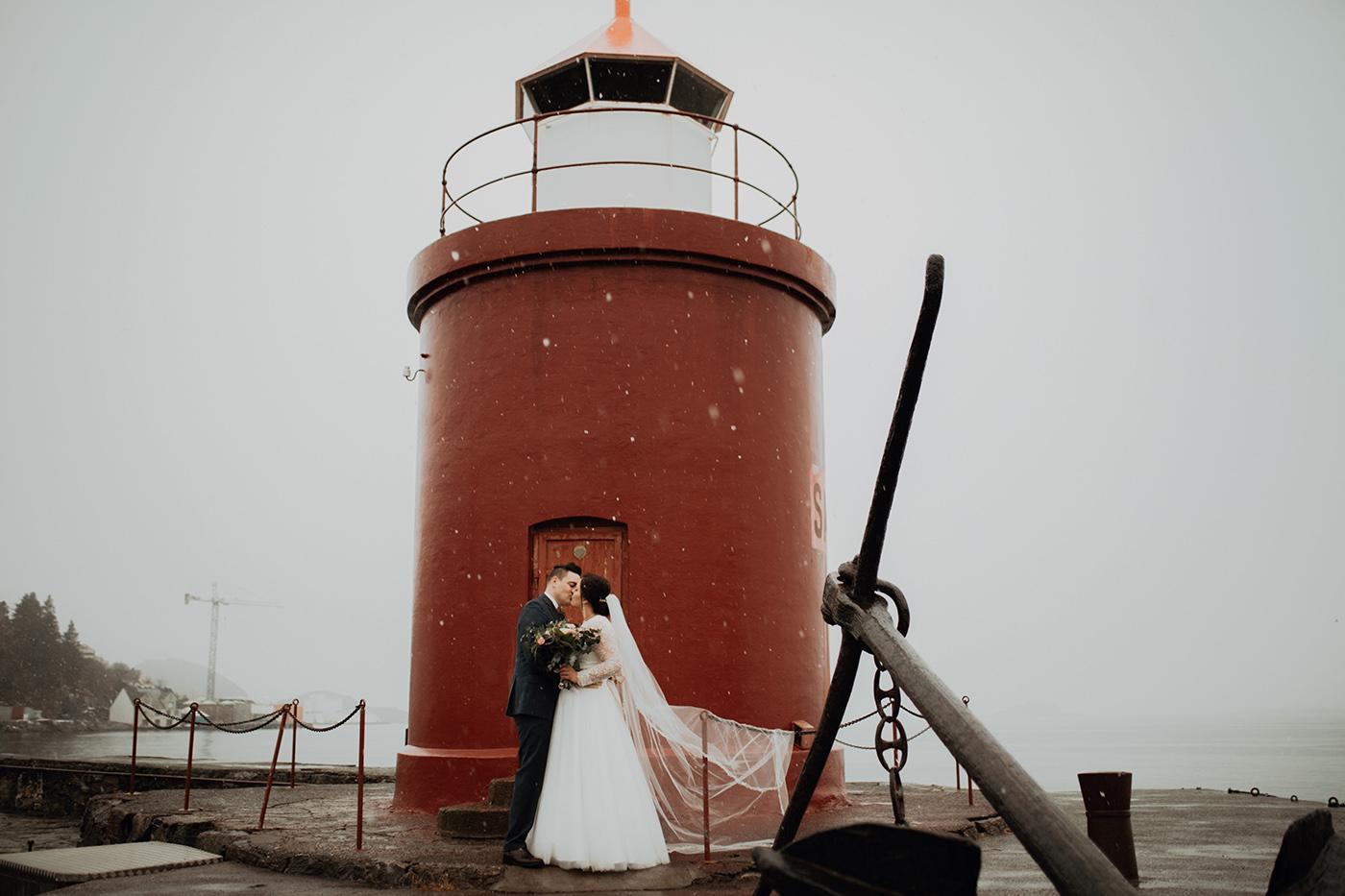 Ślub w Norwegii - reportaż ślubny Joanny i Adama 47