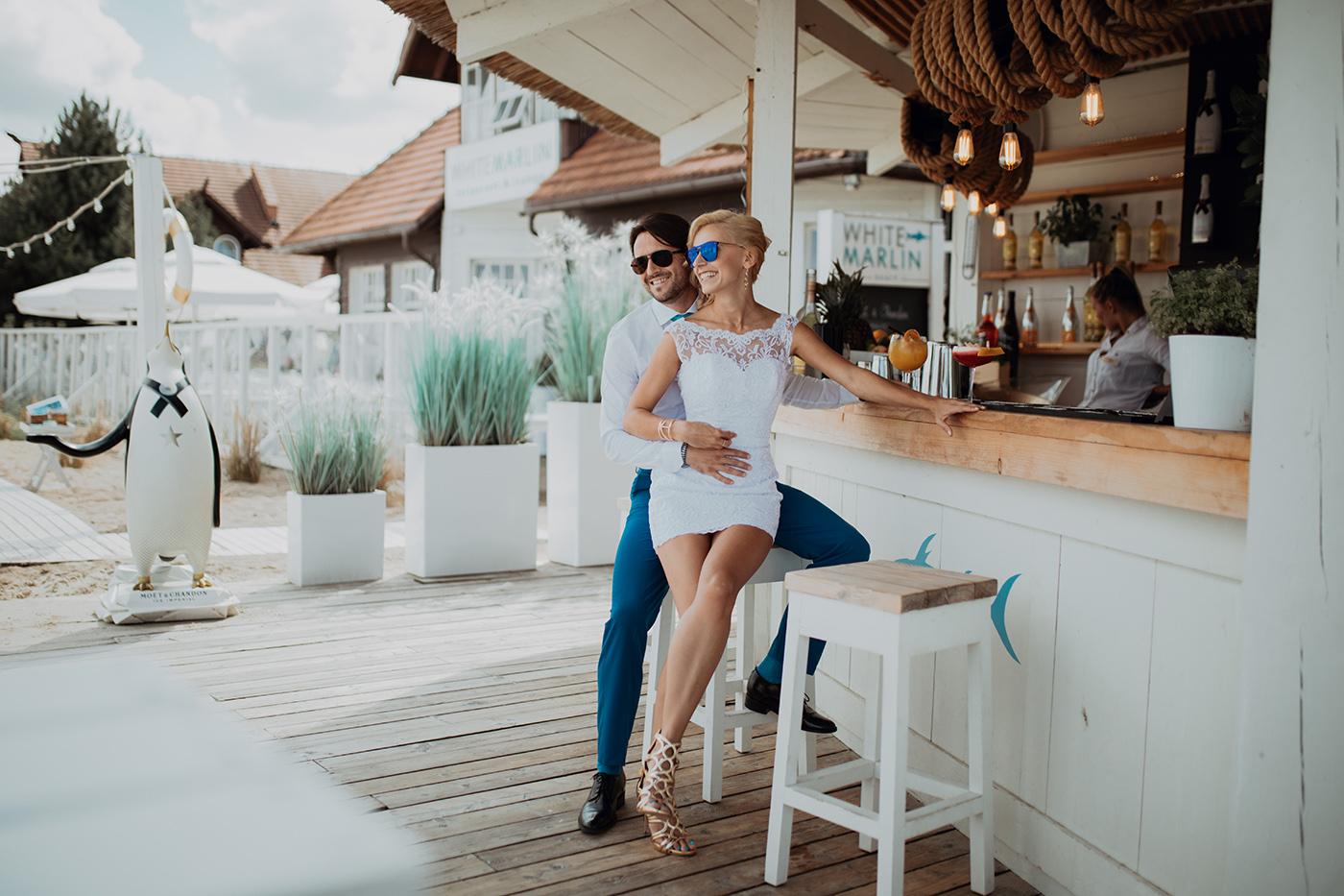 Ślub na plaży w Sopocie - Basia i Marcin 26