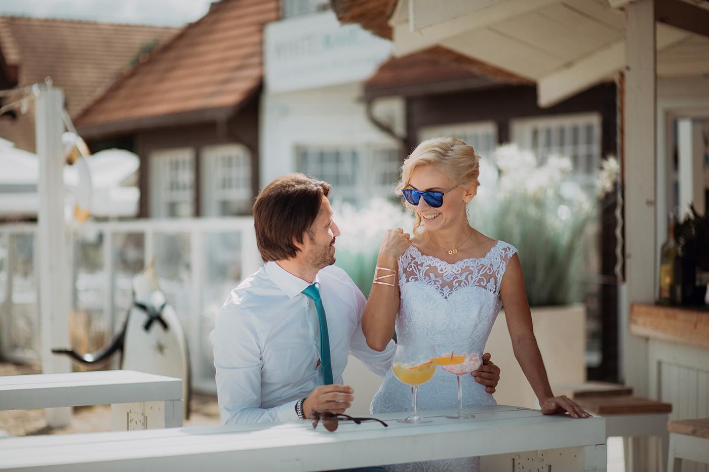 Ślub na plaży w Sopocie - Basia i Marcin 28