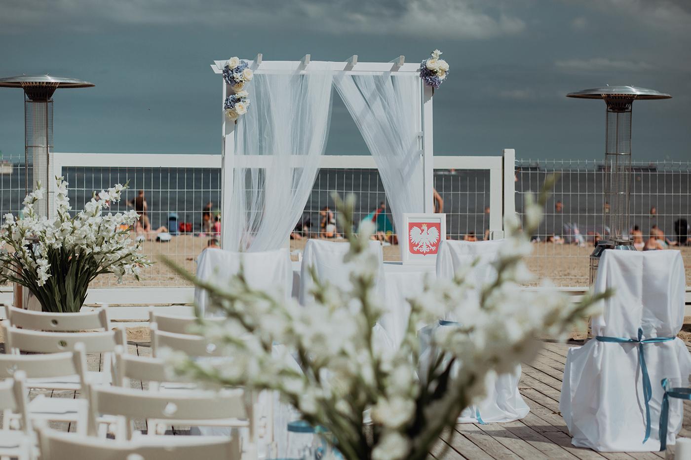 Ślub na plaży w Sopocie - Basia i Marcin 29
