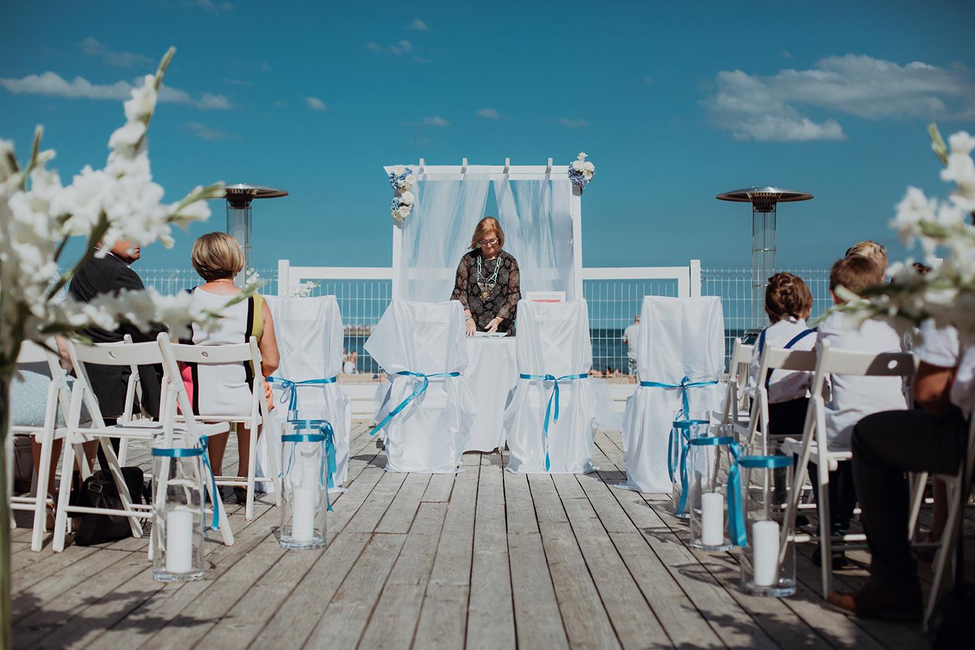 Ślub na plaży w Sopocie - Basia i Marcin 41