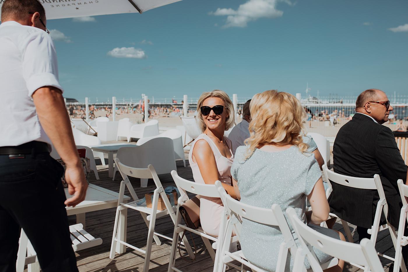 Ślub na plaży w Sopocie - Basia i Marcin 42