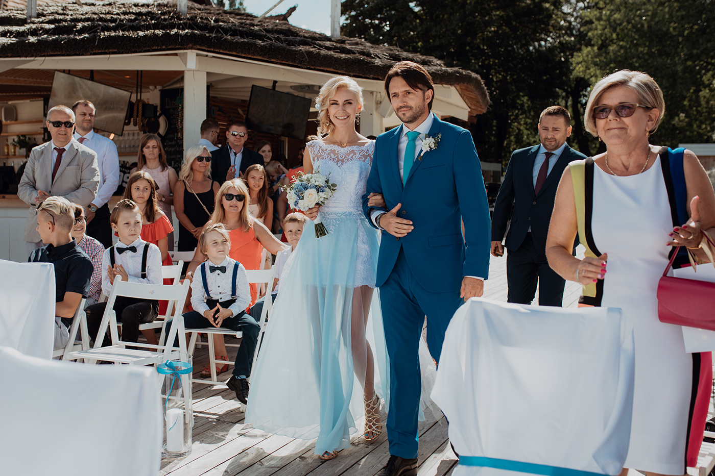 Ślub na plaży w Sopocie - Basia i Marcin 45