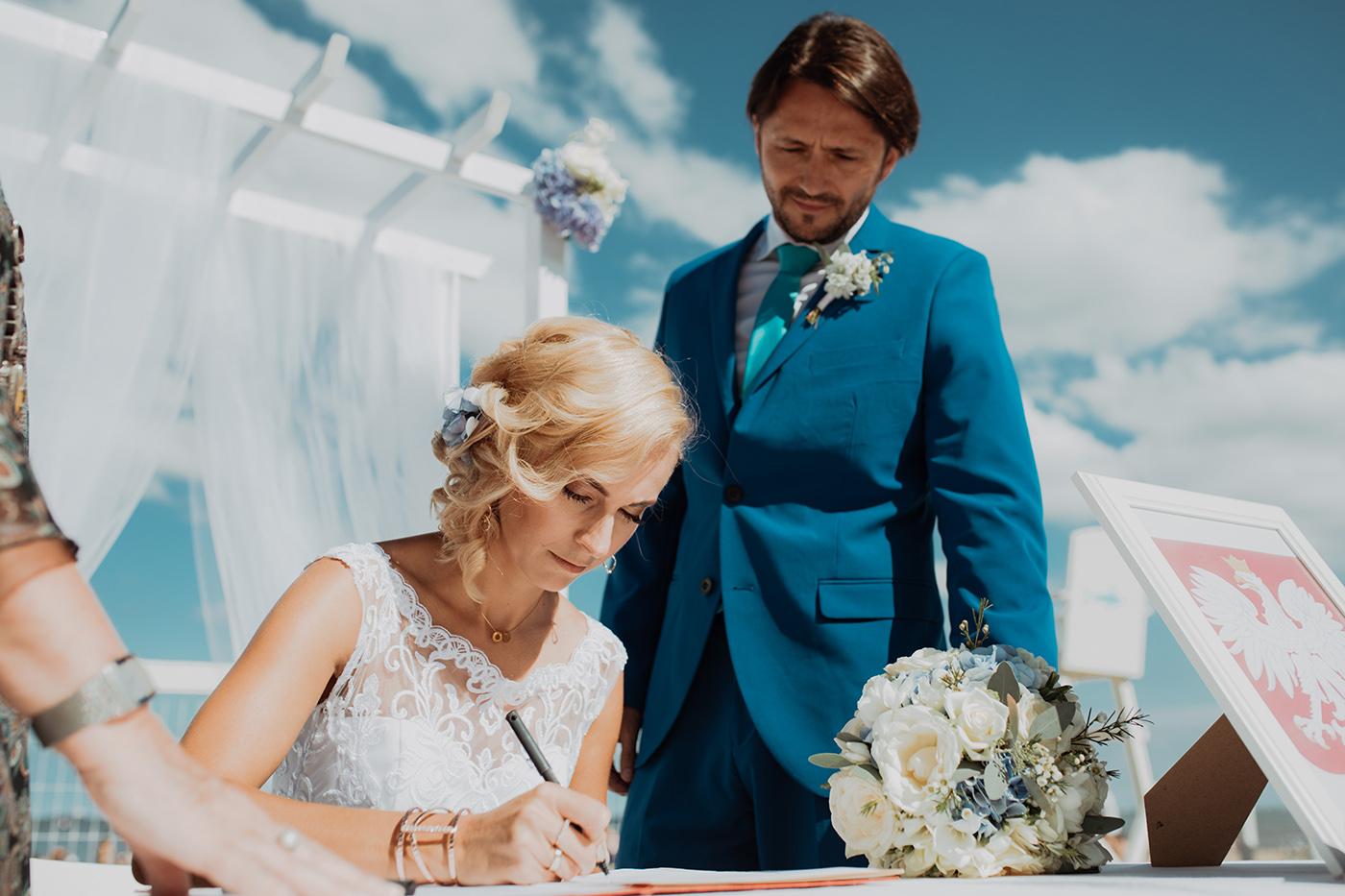 Ślub na plaży w Sopocie - Basia i Marcin 57