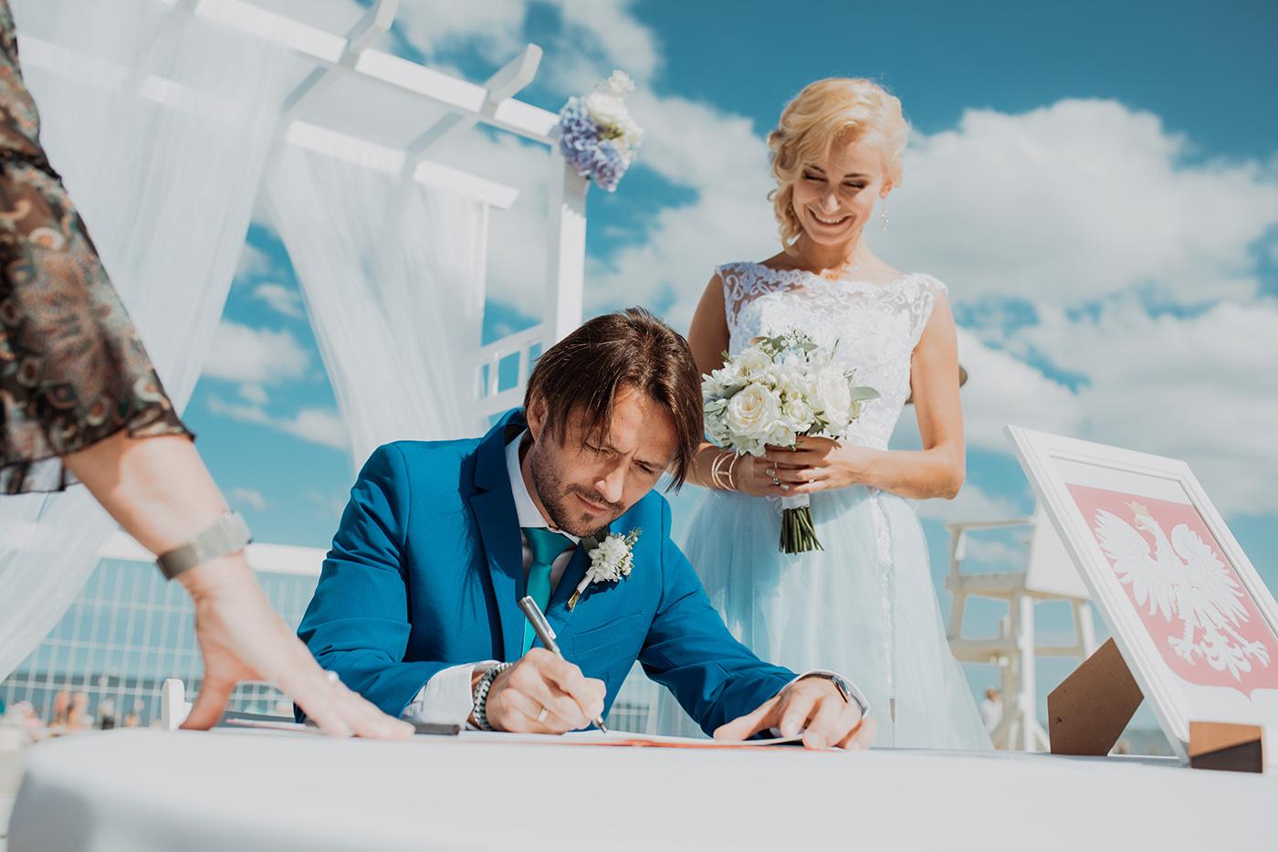 Ślub na plaży w Sopocie - Basia i Marcin 58