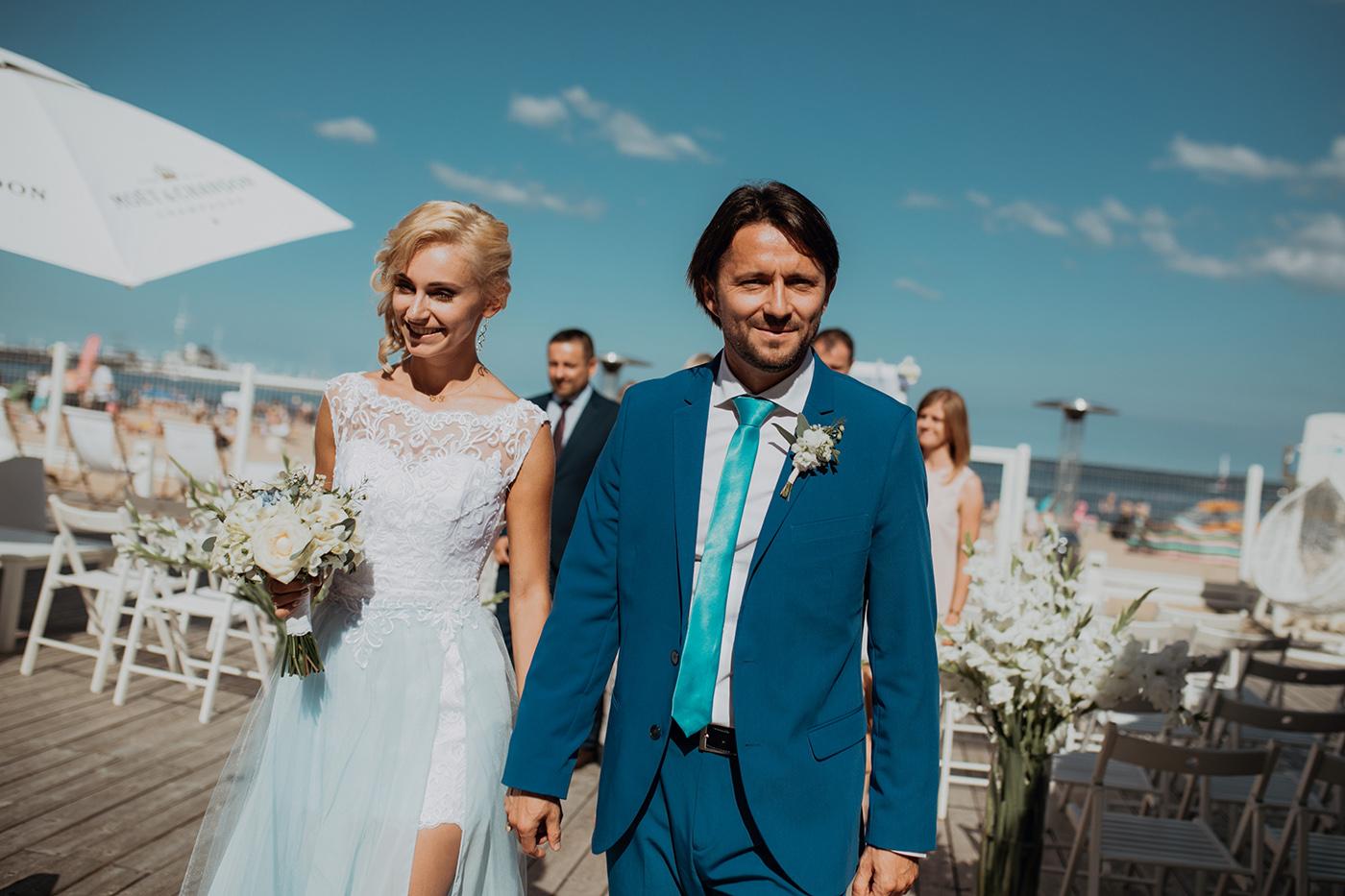 Ślub na plaży w Sopocie - Basia i Marcin 63