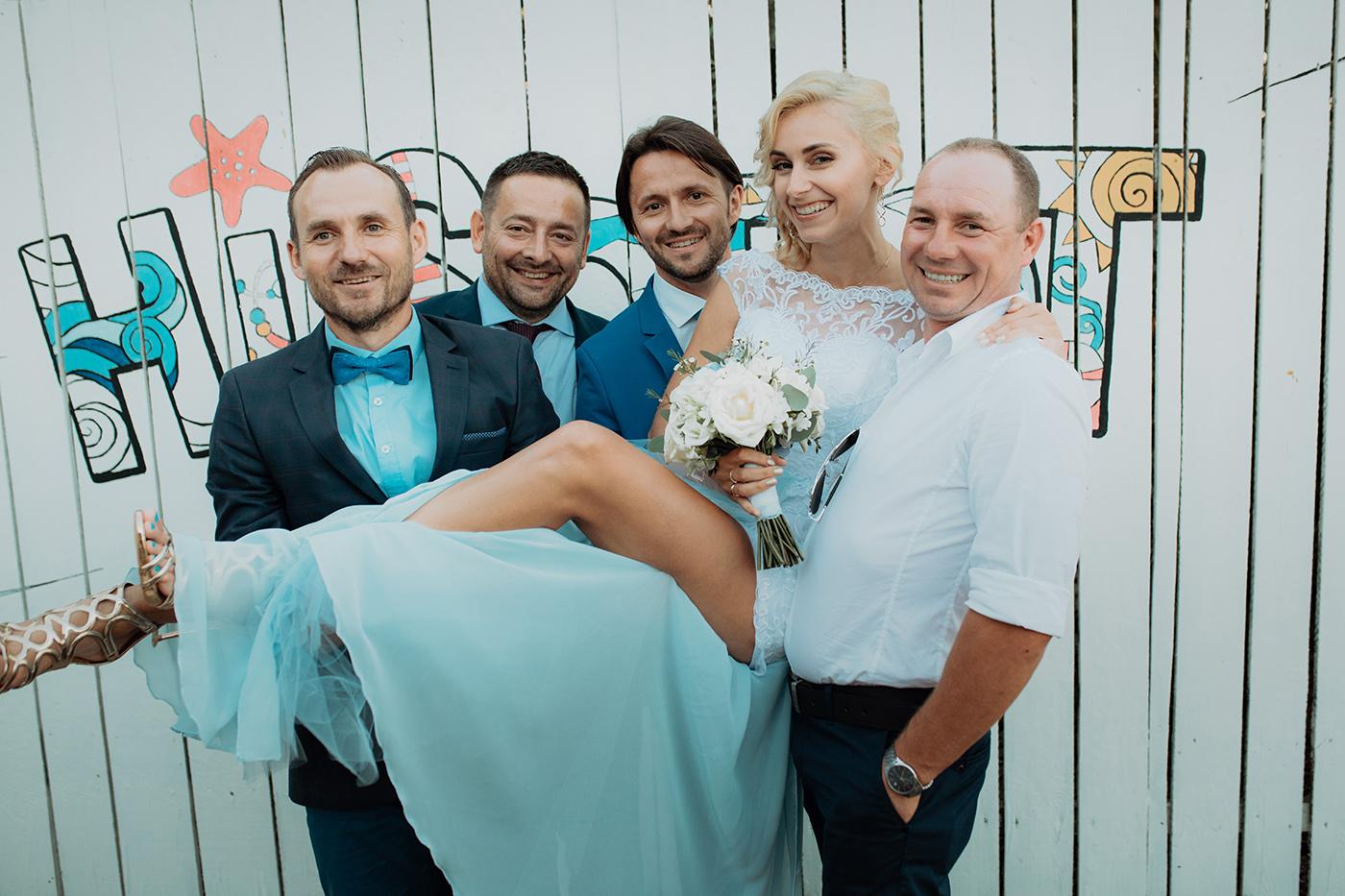 Ślub na plaży w Sopocie - Basia i Marcin 79